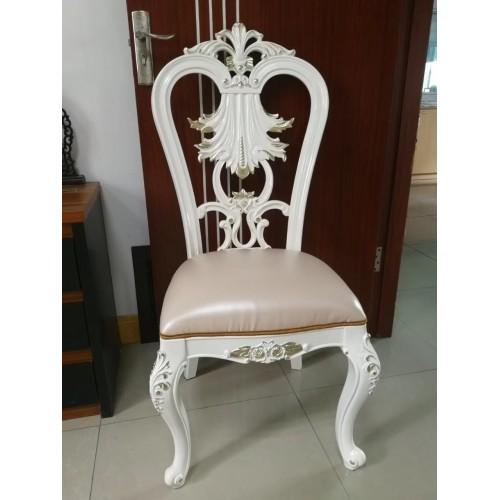 mẫu ghế ăn tân cổ điển bọc da và ko bọc da