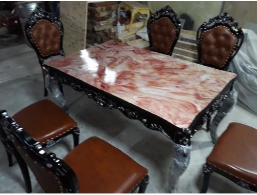 Bàn ghế ăn châu âu tân cổ điển nhập khẩu 1