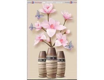tranh gạch 3d bình hoa đẹp 57
