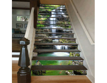 Cầu thang 3D hiện đại thác nước 33