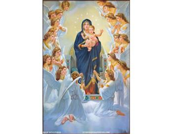 Tranh gạch 3D đức mẹ maria 134