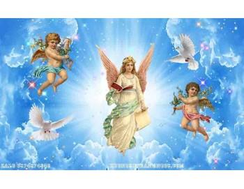 Tranh gạch 3d công giáo đức mẹ 149