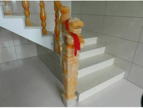 Cầu thang ngọc bích công trình 30