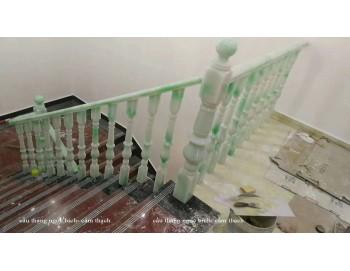 Cầu thang ngọc bích công trình 25