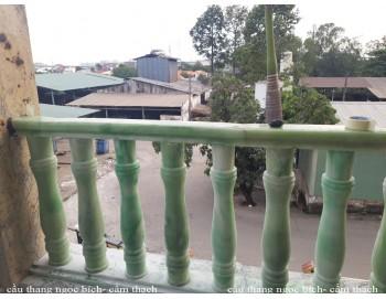 Cầu thang ngọc bích công trình 26