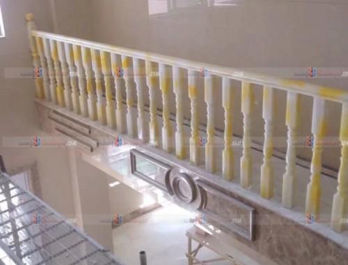 Cầu thang đá cẩm thạch demo 11