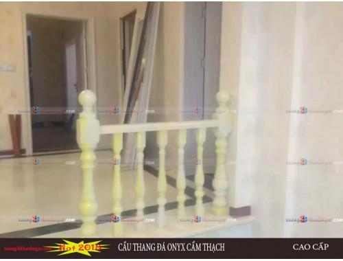Cầu thang đá cẩm thạch demo12