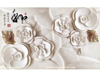 Tranh gạch 3D điêu khắc DK81
