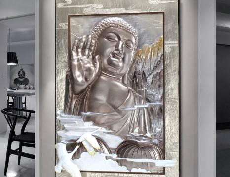 Phù Điêu Phật tổ từ bi