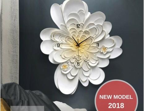 Đồng Hồ Hoa Cúc Vàng 2018