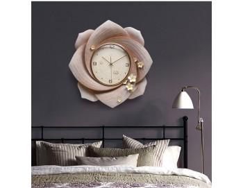 Đồng hồ treo tường Hoa 8 Cánh 3D