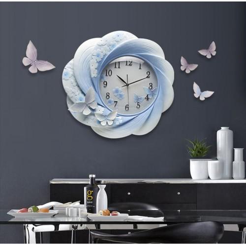 Đồng hồ treo tường phù điêu Dh16