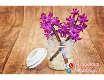 Tranh gạch lụa bình hoa 49