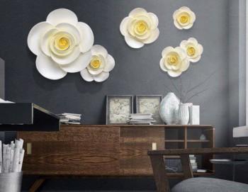 Bộ hoa treo tường mẫu 2