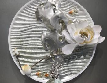 Decor 3D Hoa bạch liên