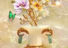 Những mẫu tranh gạch 3d lộc bình, bình hoa đẹp nhất