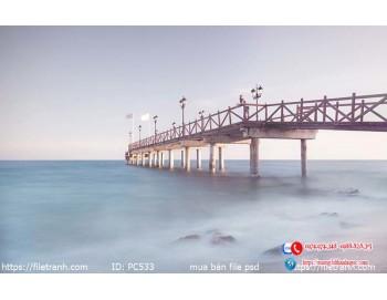 Tranh gạch 3d phong cảnh 533