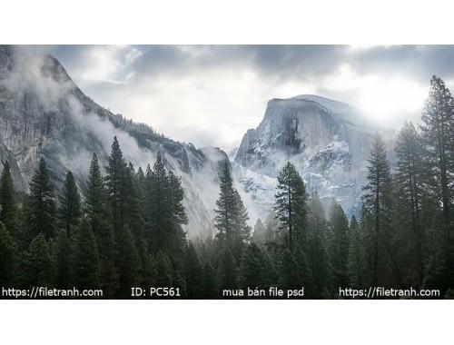 Tranh gạch 3d phong cảnh 561