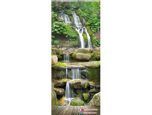 Tranh gạch 3d thác nước 90