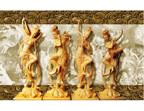 Xuất hàng tranh gạch uv 3D  . Sản xuất tranh gạch uv  , Tranh điêu khắc 3d