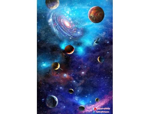 Trần xuyên sáng 3D thiên hà 1063