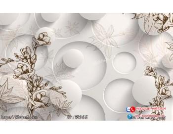 Tranh hoa trang sức 3d 368
