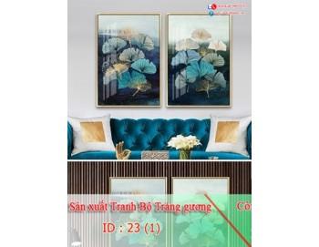 Tranh treo tường sau ghế sofa phong cách mỹ 23