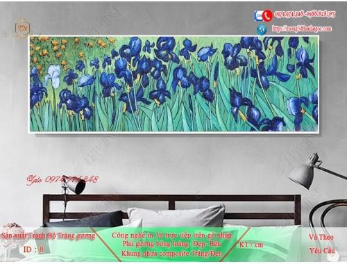 Tranh treo tường sau ghế sofa phong cách mỹ 8