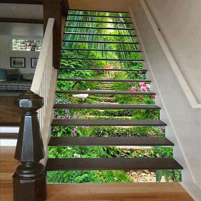 Cầu thang 3D bậc thang 21