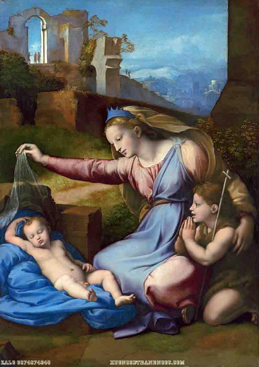 Tranh công giáo mẹ và những đứa con - 129