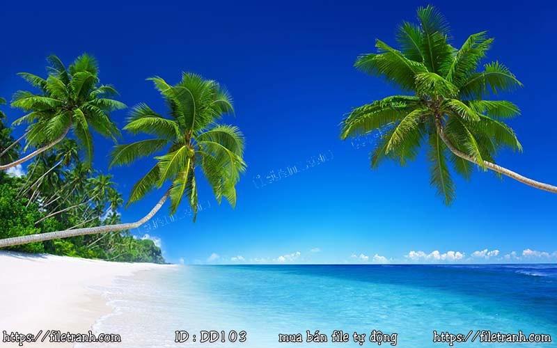 Tranh 3d đại dương cảnh biển 103