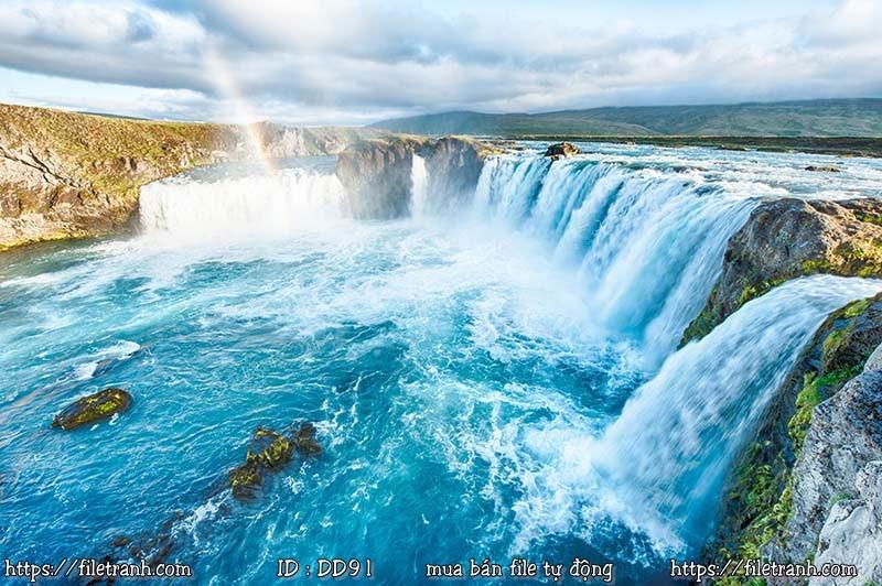 Tranh 3d đại dương cảnh biển 91
