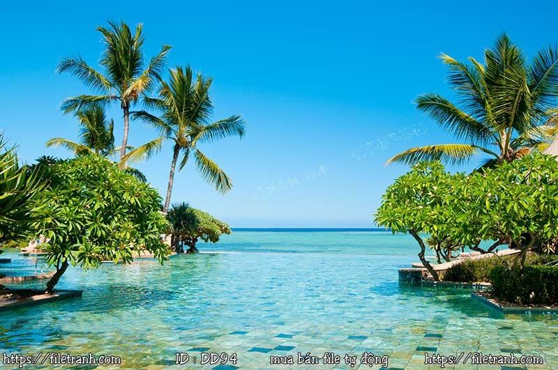Tranh 3d đại dương cảnh biển 94