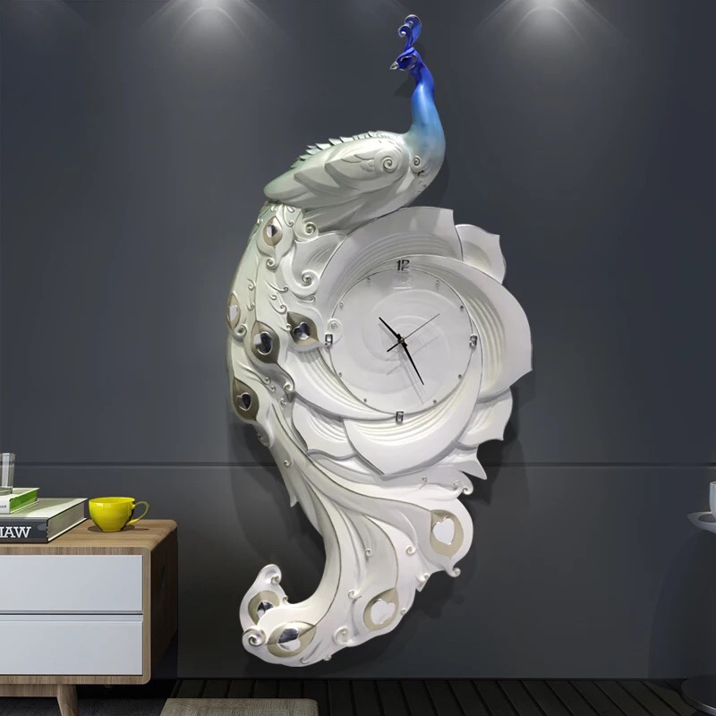 Đồng hồ cao cấp 3D Khổng Tước