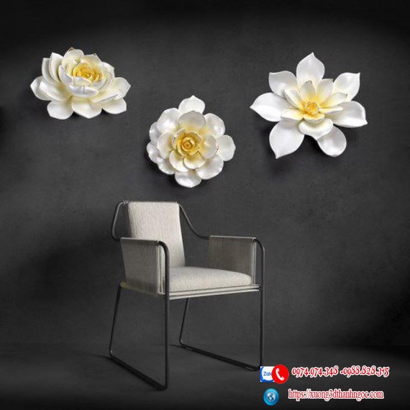 Bông hoa treo tường mẫu 3