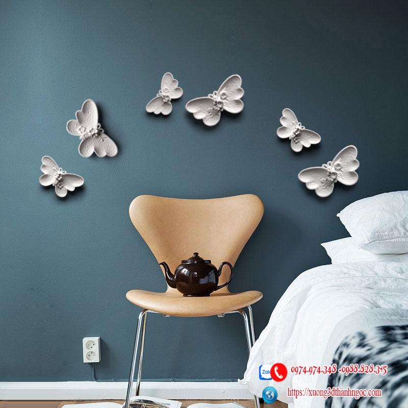 Họa tiết bộ cánh bướm 3D