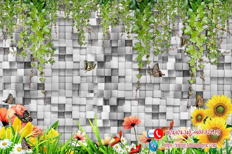 Tranh gạch hiệu ứng 3D 44