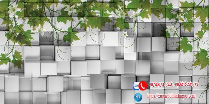 Tranh gạch hiệu ứng 3D 61