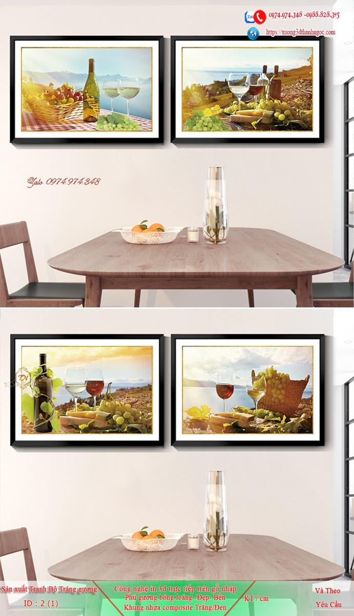 Tranh treo tường sau ghế sofa phong cách mỹ 2
