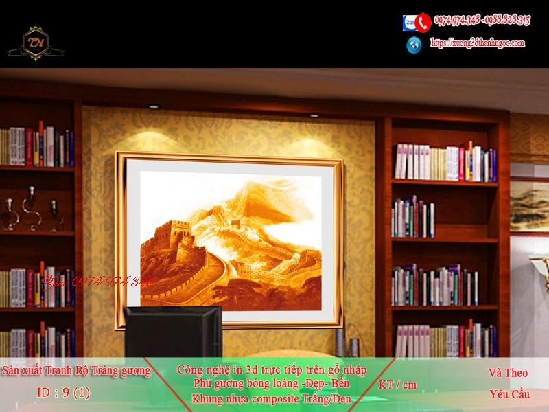 Tranh treo tường sau ghế sofa phong cách mỹ 9