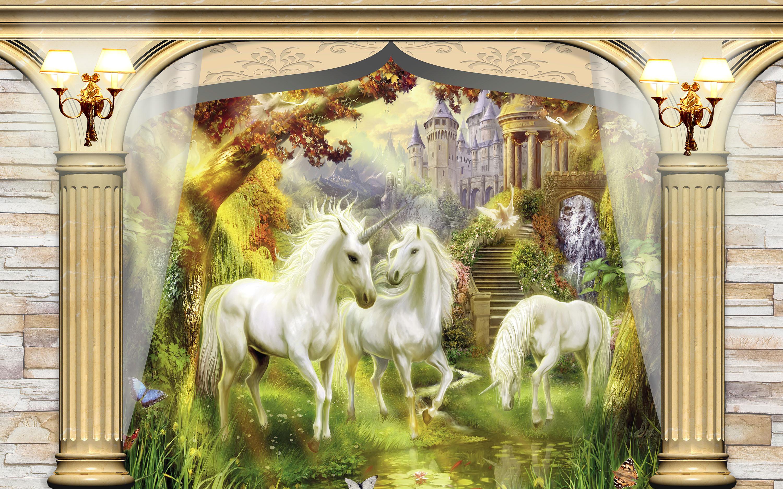 Tranh ngựa 3D