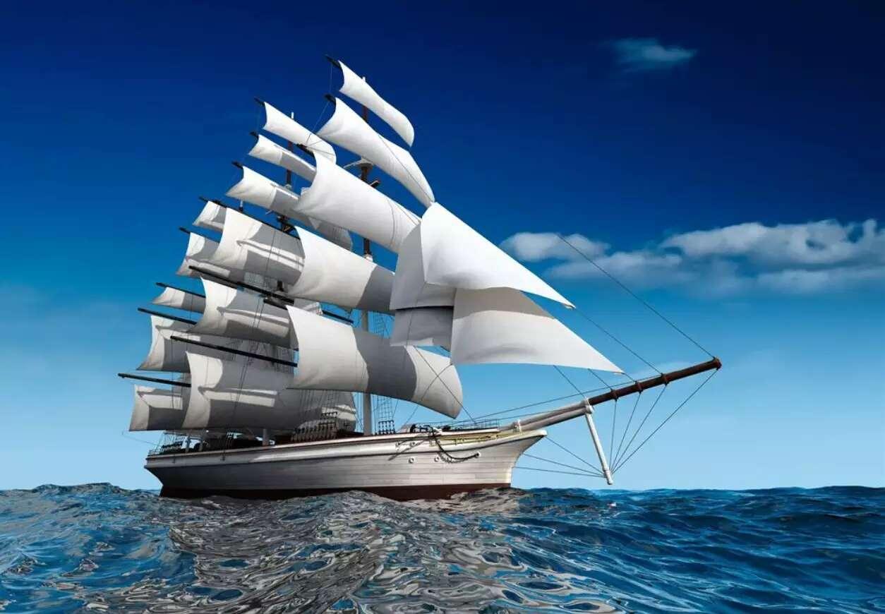 Tranh gạch uv thuận buồm xuôi gió